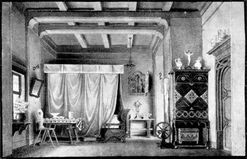Bühnenbild zu Goethes, Faust - Gretchens Zimmer | Bild: Kunsthistorisches Institut Breslau