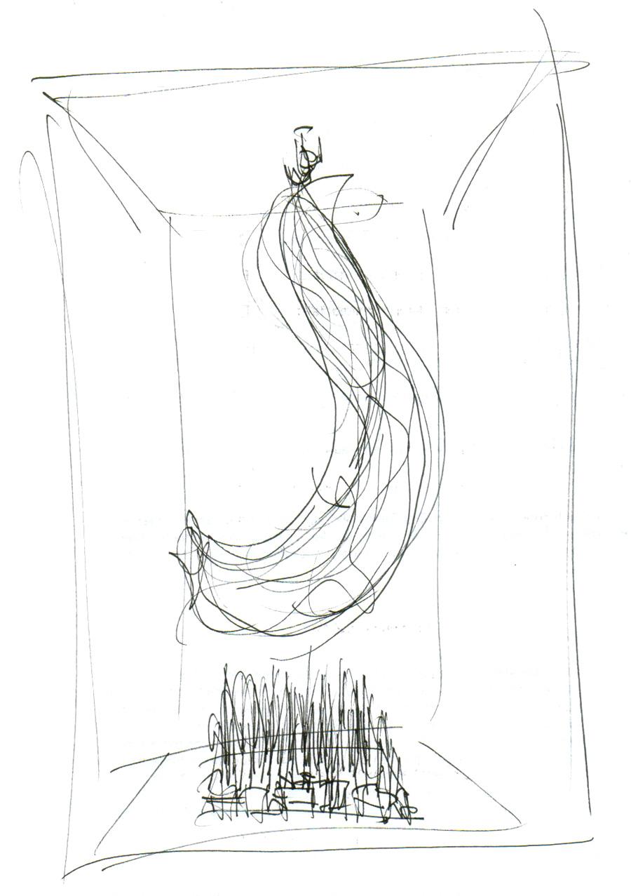 Bild oben und unten: Michael Sarreiter für Atelier Langer | Installationskonzept zum Thema - Frühling