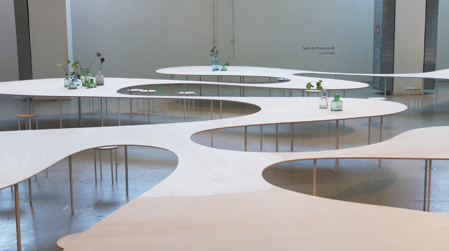 Table Architecture von Studio MARKS.