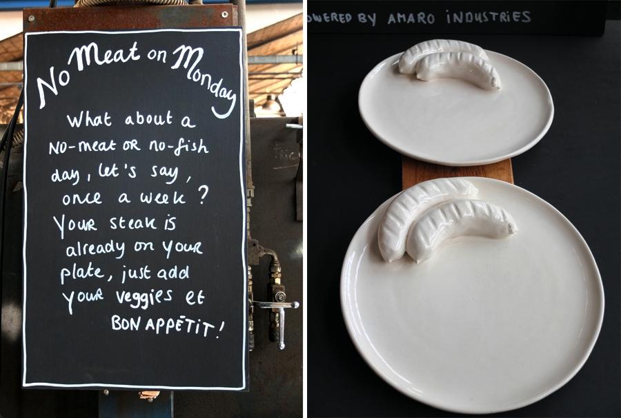NO MEAT ON MONDAY - Ideen für Fleischlose Zeiten von Annebet Philips.