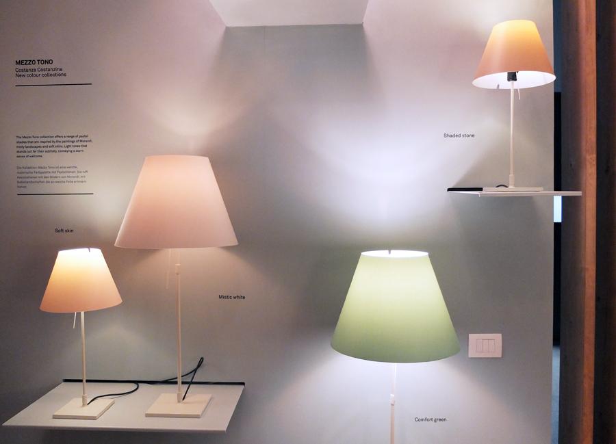 """""""Constanza"""" von Luce Plan in neuen Farben"""