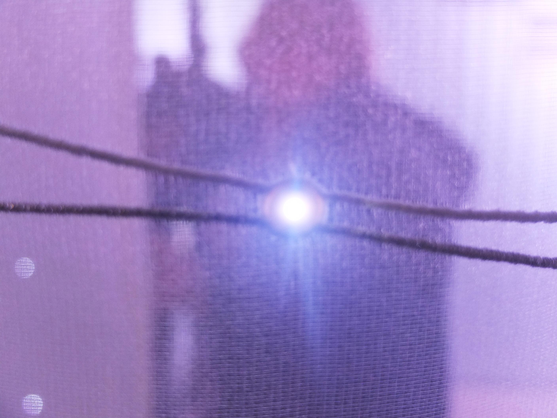 """Waschbare LED Dioden im Objektstoff """"eLumino"""" von Creation Baumann."""